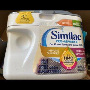 New Unopened Similac Pro Advance Baby Formula